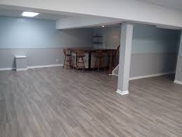 Install Laminate Flooring In Basement Sumptuous Laminate Wood Flooring For Basement Installing On Floor