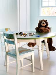how to repurpose a dining table into a kids u0027 activity table how