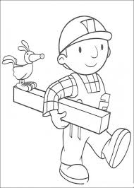 fun coloring pages bob builder coloring pages