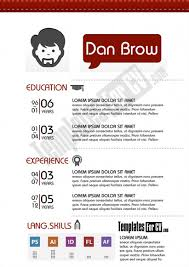 Free Creative Resume Template Word Graphic Designer Single Page Cv Template Creative Resume