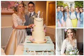wedding of the week sian cahill and stephen livingstone daily
