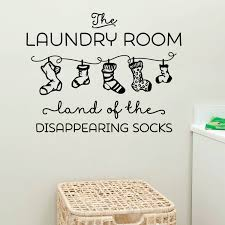 the laundry room wall sticker decals bathroom home decor wall decals