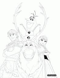 frozen coloring pages pdf 454765