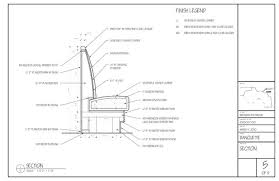 How To Build A Banquette Seating Standard Banquette Details 06 Banquettes Pinterest