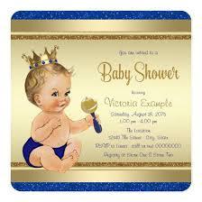 prince baby shower invitations royal baby boy blue gold prince baby shower invitations
