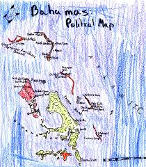 Map Bahamas Ljhschuckins Political Map Bahamas