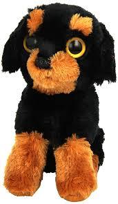 amazon com ty beanie babies brutus rottweiler toys u0026 games