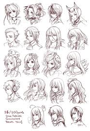 anime hairstyles tutorial anime boy drawing reference clipartxtras