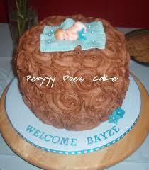peggy does cake emma u0027s chocolate roses baby shower cake