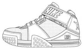 nike shoes coloring pages outlook