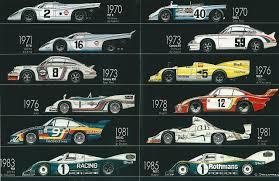 porsche race cars porsche race cars 1970 1985 porsche cars history