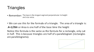 Area Formula by Geometry Chapter Perimeter Circumference And Area Ppt Download