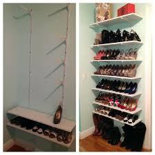 closet under bed shoe shelf storage walking shoe closet shoe organizer storage