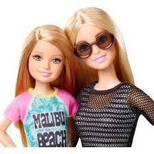 barbie costume for halloween barbie sisters barbie and stacie dolls 2 pack walmart com