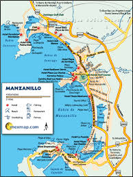 map of the mexico manzanillo map manzanillo mexico maps manzanillo mexico