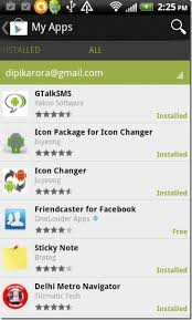 find my app for android how find installed apps from play store on android