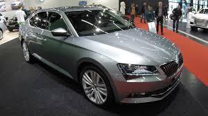 Gry Colour Skoda Superb Style Sedan Business Grey Colour Walkaround
