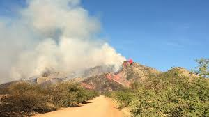 winds stoke wildfire officials estimate up to 20k acres azpm