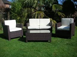 Wicker Patio Furniture Sets by New Garden Rattan Wicker Outdoor Conservatory Furniture Set Table