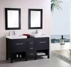 Bathroom Sink Design Ideas Great Double Trough Sink Bathroom Vanity With Additional Home