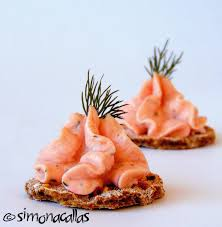 canape mousse smoked salmon mousse canapés recipe simonacallas