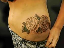 tattoo placement on stomach lotus pinterest pale pink rose tattoo placement pale flower cover up