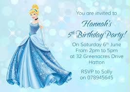 21st Birthday Invitation Card Cinderella Birthday Invitations Cloveranddot Com