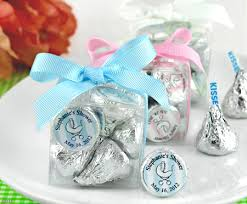 baby shower party favors ideas party favor ideas for baby shower silver chocolate kisses with