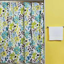 Designer Material For Curtains Designer Fabric Shower Curtains Tropical Courtyard Garden And
