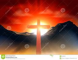 new easter morning christian cross concept jesus r royalty free