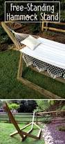 12 Foot Hammock Stand Best 25 Free Standing Hammock Ideas On Pinterest Decking Screws