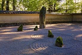 sand and stone garden u2013 portland japanese garden