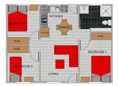 3 bedroom flat floor plan granny flat plans granny flat image result for 3 bedroom granny flat plans home ideas for block