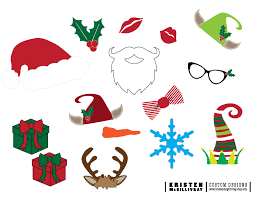 christmas photo booth props free christmas photobooth props kristen mcgillivray