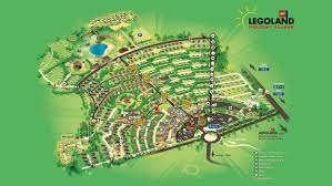 Legoland Map Florida by Get An Overview Of Legoland Holiday Village