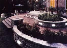 V Landscape Lights - landscape lighting solar led u0026 12 v paver deck dock stair