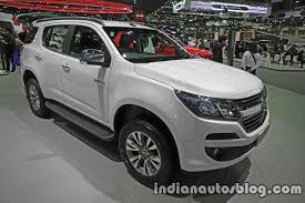 land rover thailand new chevrolet trailblazer facelift thai expo live