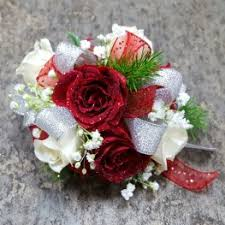 Red Rose Wrist Corsage Corsages