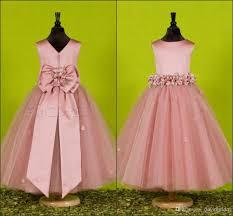 beautiful handmade flower flower dresses for weddings