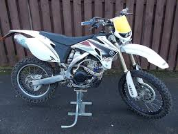 yamaha yz 250 f 2009 model 09 reg 4 stroke road registered