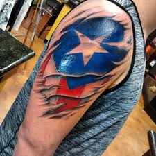 Ripped American Flag Tattoo Flag Tattoo Tattoo Collections