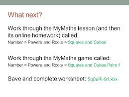 types of number u2013 squares cubes and their roots ppt video