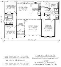 1700 square feet house plans india