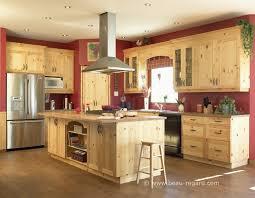 idee cuisine avec ilot 14 armoires de cuisine ch234tre pin 2