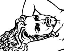 Pinup Coloring Page Beard By Alyssathestar On Deviantart Pin Up Coloring Pages