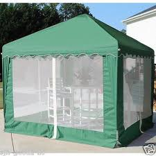 Gazebo Awning Replacement Canopy Cover Outdoor Tent Patio Wedding Event Shade