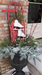 Front Porch Decor Ideas by 677 Best Outdoor Decorating For Winter And Christmas Images On