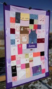 memory clothes memory quilt made from baby clothes moss re creations