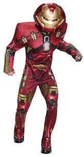 Avengers Halloween Costume Deluxe Hulk Buster Iron Man Mens Avengers Fancy Dress Superhero