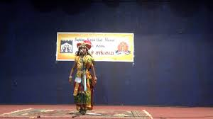 rakshitha facy dress as velu nachiyar youtube